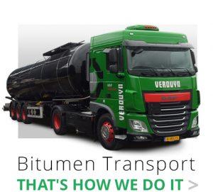 Bitumen that's how we di it